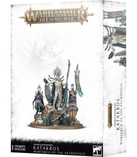 Warhammer Age of Sigmar: Ossiarch Bonereapers Katakros Mortarch of the Necropolis