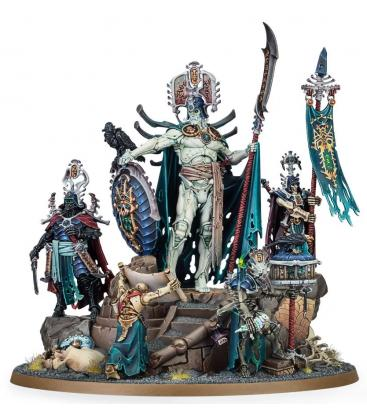Warhammer Age of Sigmar: Ossiarch Bonereapers (Katakros Mortarch of the Necropolis)