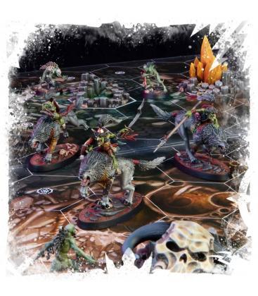 Warhammer Underworlds Beastgrave: Colmibramantes de Rippa