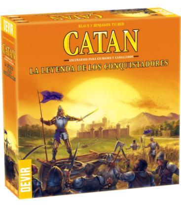 Catan: La Leyenda de los Conquistadores