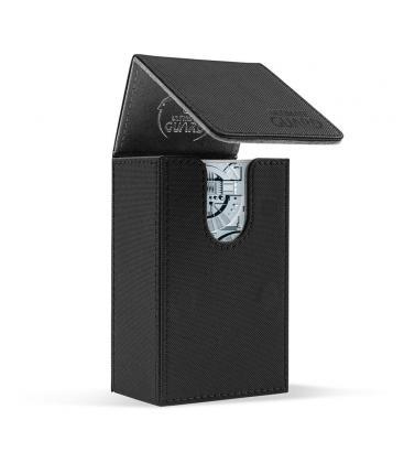 Deck Case Tarot Leatherette 70+ Negro