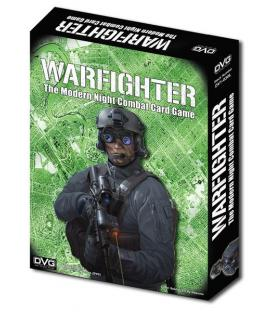 Warfighter: Shadow War The Modern Night Combat Card Game (Inglés)
