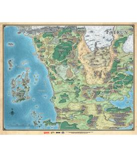 Dungeons & Dragons: Mapa de Faerûn