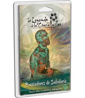 La Leyenda de los Cinco Anillos LCG: Buscadores de Sabiduría (Pack del Clan del Dragón)