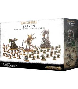 Warhammer Age of Sigmar: Skaven Battleforce Corrupting War-Swarm