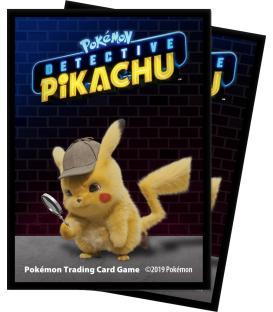 Pokemon: Fundas Ilustradas Ultra Pro - Detective Pikachu (65)