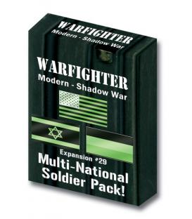 Warfighter: Modern Shadow War Multi-National Soldier Pack! (Expansion 29)