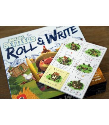 Colonos del Imperio: Roll & Write
