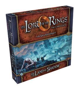 El Señor de los Anillos LCG: The Land of Shadow (Inglés)