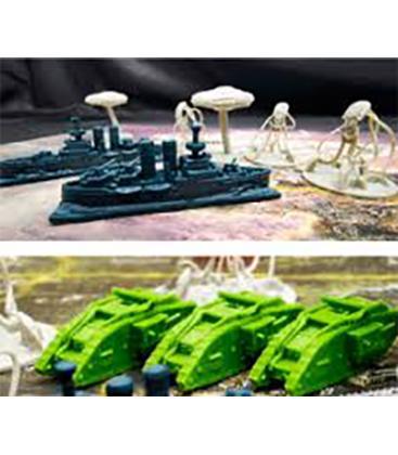 La Guerra de los Mundos: Miniaturas