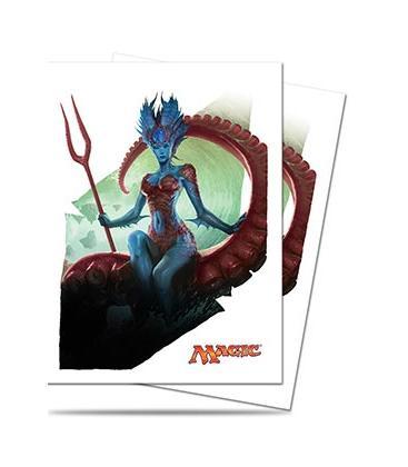 Magic the Gathering: Fundas Ilustradas Ultra Pro BFZ Kiora, Master of the Depths (80)