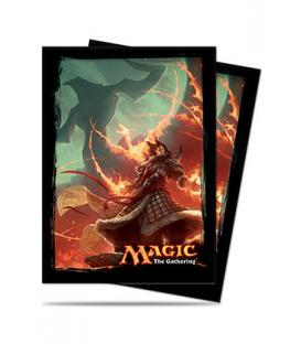 Magic the Gathering: Fundas Ilustradas Ultra Pro Sarkhan Vol - Fate Reforged (80)