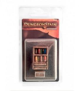 Dungeon Spain - Pack Accesorios 3: Librería y Baúl