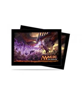 Magic the Gathering: Fundas Ilustradas Ultra Pro Dragons of Tarkir Key Art (80)