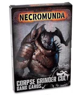Necromunda: Corpse Grinder Cult Gang Cards (Inglés)