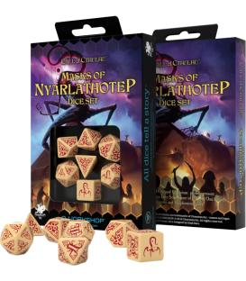 Q-Workshop: Call of Cthulhu - Masks of Nyarlathotep (Dice Set)