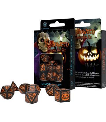 Q-Workshop: Halloween Pumpkin (Black & Orange)