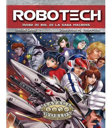 Savage Worlds: Robotech (Juego de Rol de la Saga Macross)