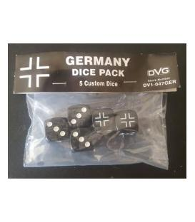 Germany Dice Pack (5 Custom Dice)