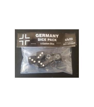 Germany Dice Pack (5 Custom Dice)