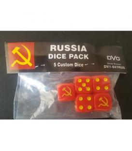 Russia Dice Pack (5 Custom Dice)