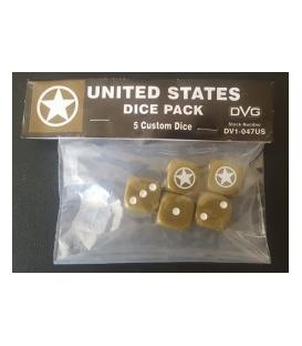 United States Dice Pack (5 Custom Dice)