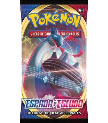Pokemon: Espada y Escudo (sobre)