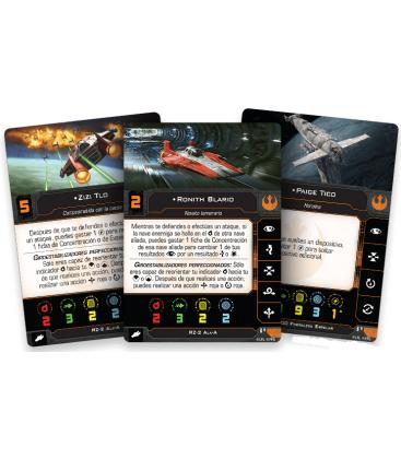 Star Wars X-Wing 2.0: Ases Estelares