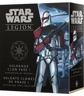 Star Wars Legion: Soldados Clon Fase I (Expansión de Mejora)