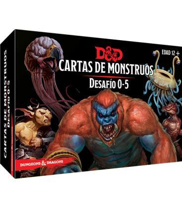 Dungeons & Dragons: Cartas de Monstruos (Desafío 0-5)