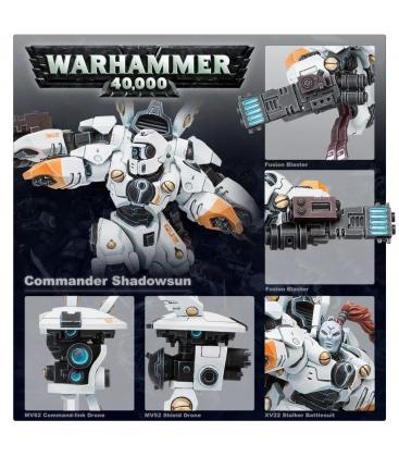 Warhammer 40,000: Tau Empire (Commander Shadowsun)