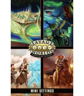 Savage Worlds: Edición Aventura (Pantalla + Miniambientaciones)