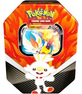 Pokemon: Compañeros de Galar - Cinderace V (Lata)