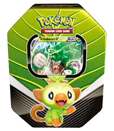 Pokemon: Compañeros de Galar - Rillaboom V (Lata)