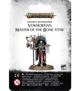 Warhammer Age of Sigmar: Ossiarch Bonereapers (Vokmortian Master of the Bone Tithe)