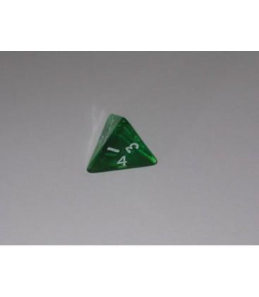 Dado Gema 4 Caras - Verde