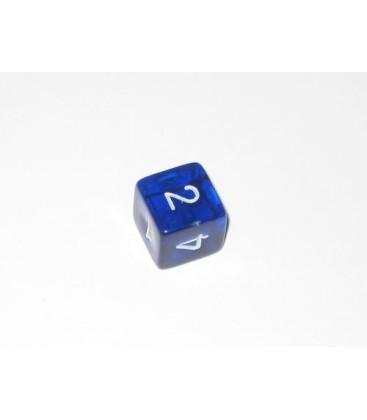 Dado Gema 6 Caras - Azul