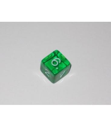 Dado Gema 6 Caras - Verde