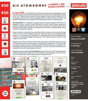 Against the Odds 50: Die Atombombe The Reich's Bid to Build the Bomb