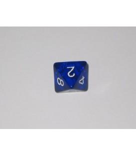 Dado Gema 8 Caras - Azul