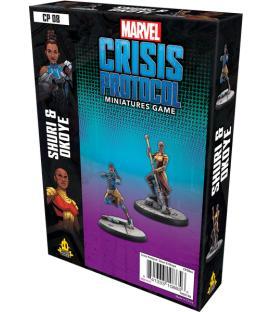 Marvel Crisis Protocol: Shuri & Okoye (Inglés)