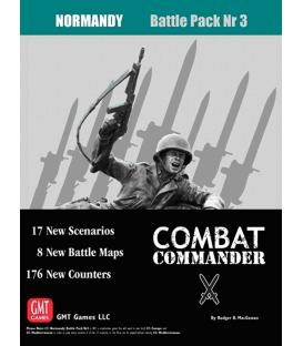 Combat Commander: Battle Pack 3 - Normandy (Inglés)