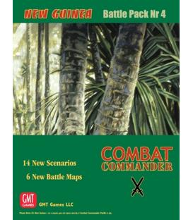 Combat Commander: Battle Pack 4 - New Guinea (Inglés)