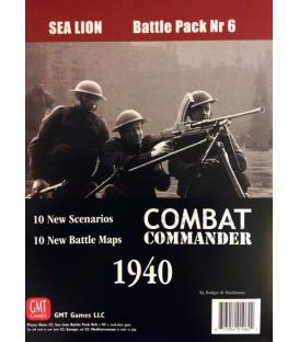 Combat Commander: Battle Pack 6 - Sea Lion (Inglés)