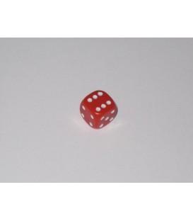 Dado Opaco 6 Caras - Rojo (10mm)