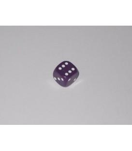 Dado Opaco 6 Caras - Morado (10mm)