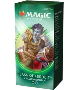 Magic the Gathering: Challenger Deck 2020 - Flash of Ferocity (Inglés)