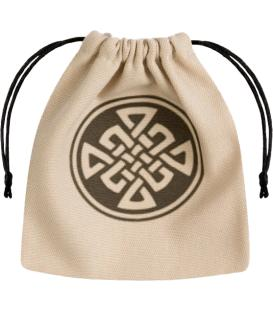Bolsa Q-Workshop - Celtic (Beige & Black)