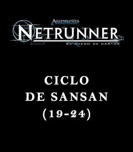 Android Netrunner LCG: Pack Ciclo Sansan (6 Capítulos)