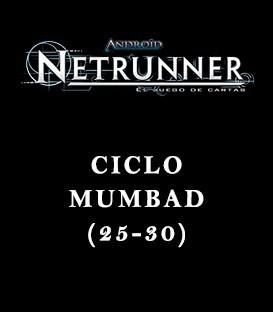 Android Netrunner LCG: Pack Ciclo Mumbad (6 Capítulos)
